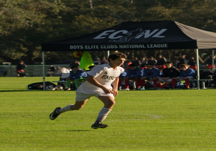Nicolaou Earns Boys ECNL National Camp Call Up